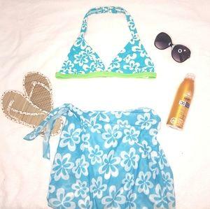Baltex Bikini top and beach wrap sarong
